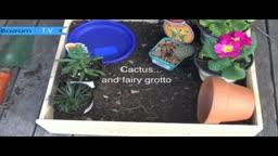 مدل باغچه حیاط کوچک